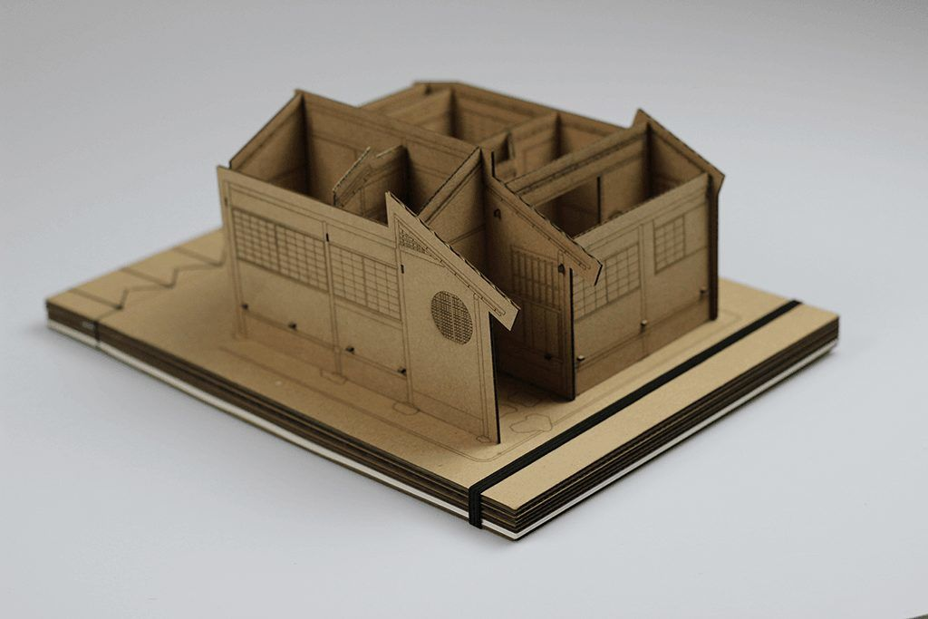 Theehuis 4 - Tea Houses from Cardboard