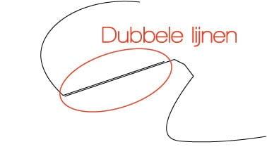 Luxigo | Luxigo Dubbelelijnen | Eenvoudig, goedkoop en een snelle levering in en rondom Delft!